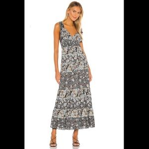 Free people Let's Smock About It Maxi Dress XS